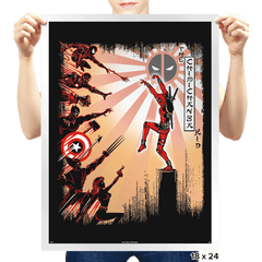 The Chimichanga Kid - Prints - Posters - RIPT Apparel