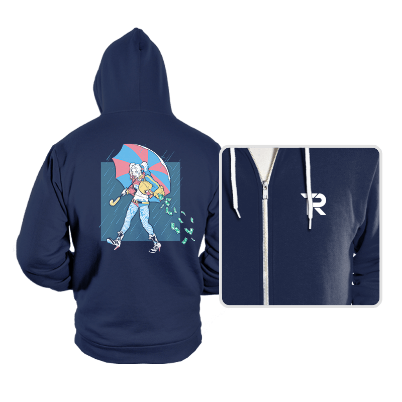 Salty Squad Girl - Hoodies - Hoodies - RIPT Apparel