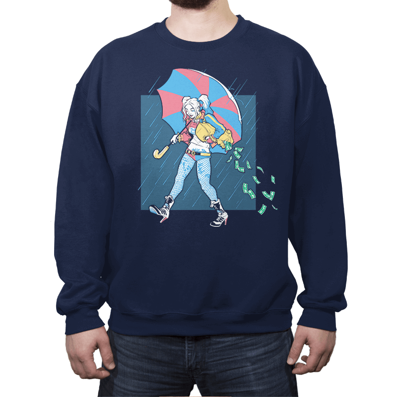 Salty Squad Girl - Crew Neck - Crew Neck - RIPT Apparel