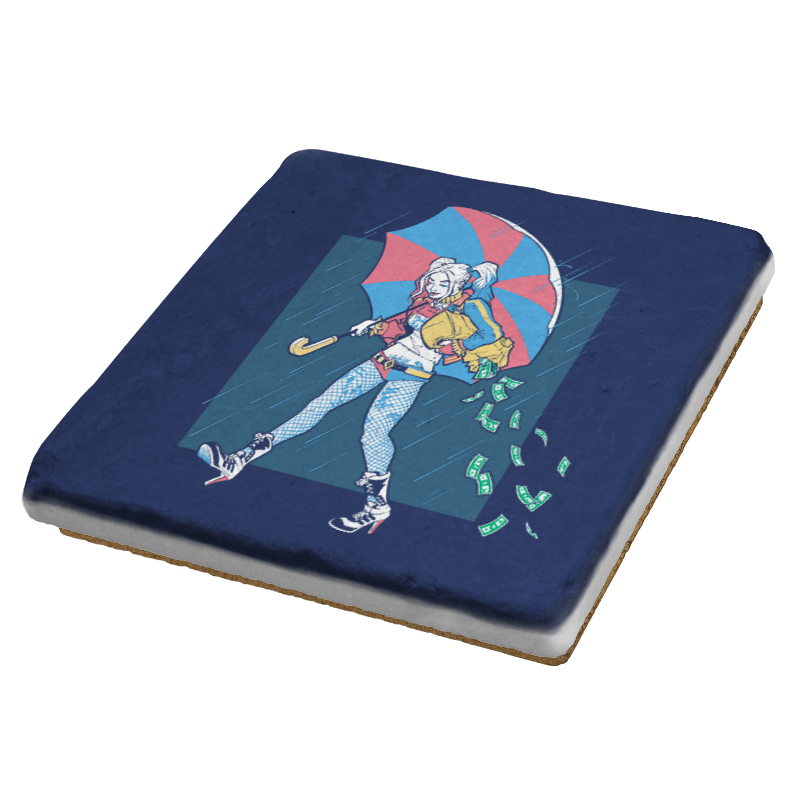 Salty Squad Girl - Coasters - Coasters - RIPT Apparel