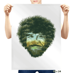 Happy Trees - Prints - Posters - RIPT Apparel