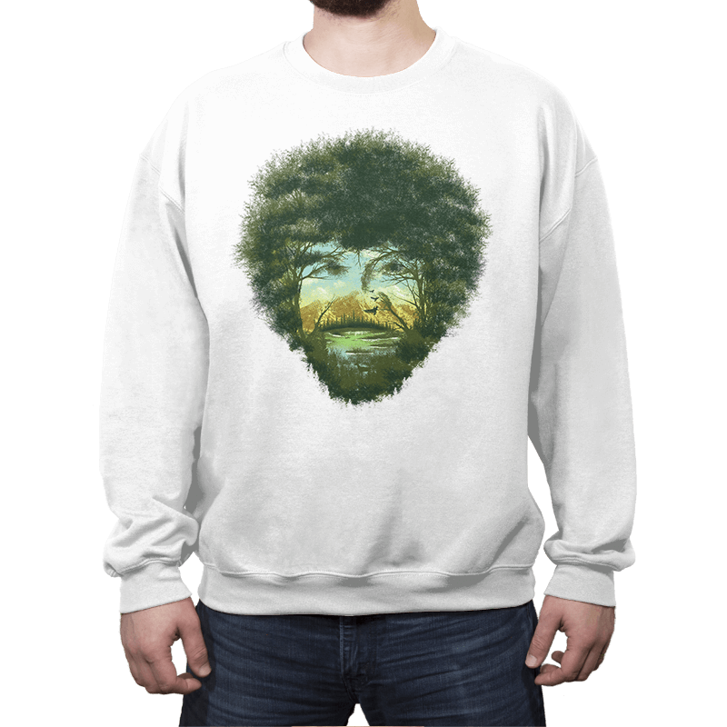 Happy Trees - Crew Neck - Crew Neck - RIPT Apparel