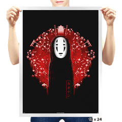 No Face - Prints - Posters - RIPT Apparel