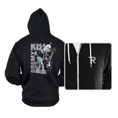Heavy Metal Ass - Hoodies - Hoodies - RIPT Apparel