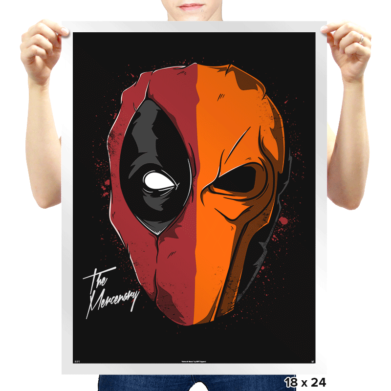 Daft Mercenary - Prints - Posters - RIPT Apparel