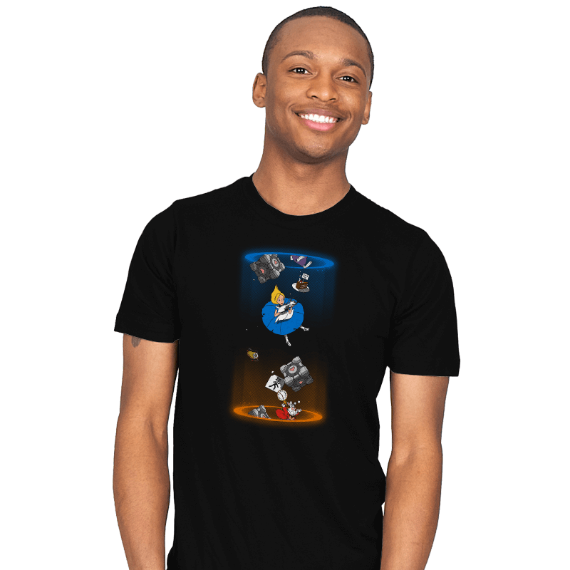 Alice Through The Portal - Mens - T-Shirts - RIPT Apparel