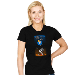 Alice Through The Portal - Womens - T-Shirts - RIPT Apparel