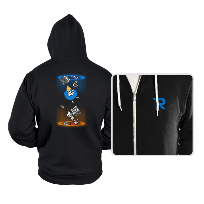 Alice Through The Portal - Hoodies - Hoodies - RIPT Apparel