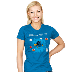 Lost in the Water Level - Womens - T-Shirts - RIPT Apparel