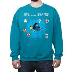 Lost in the Water Level - Crew Neck - Crew Neck - RIPT Apparel
