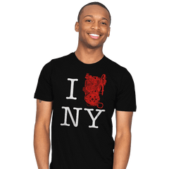 I Saved NYC - Mens - T-Shirts - RIPT Apparel