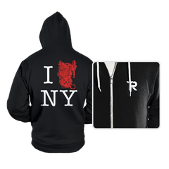 I Saved NYC - Hoodies - Hoodies - RIPT Apparel