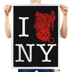 I Saved NYC - Prints - Posters - RIPT Apparel