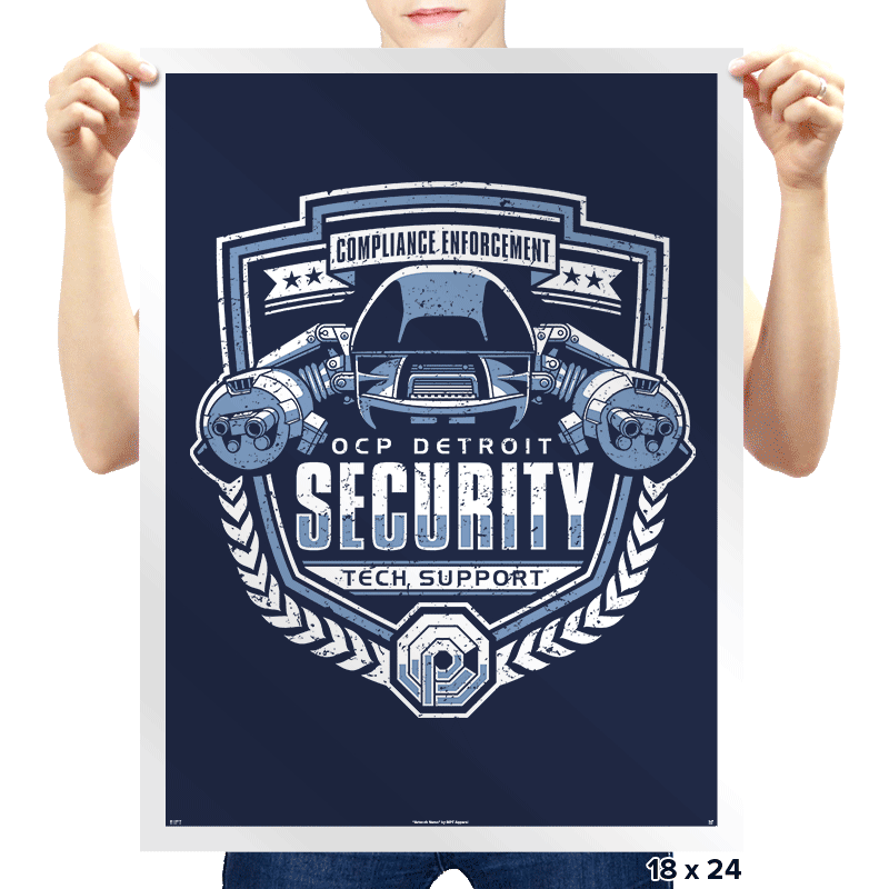Compliance Enforcement - Prints - Posters - RIPT Apparel