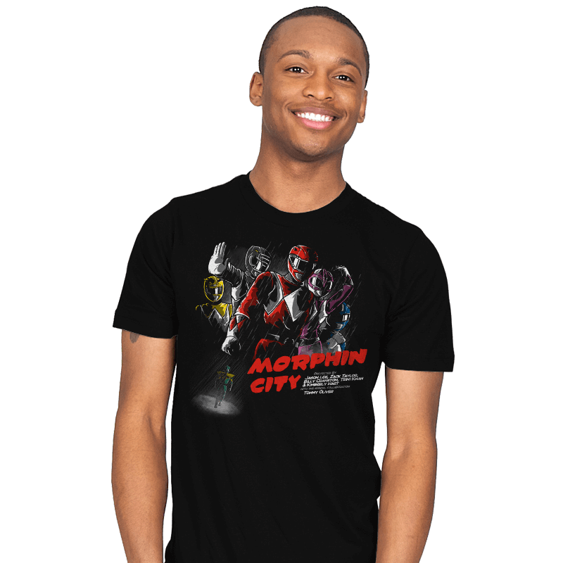 Morphin City - Mens - T-Shirts - RIPT Apparel