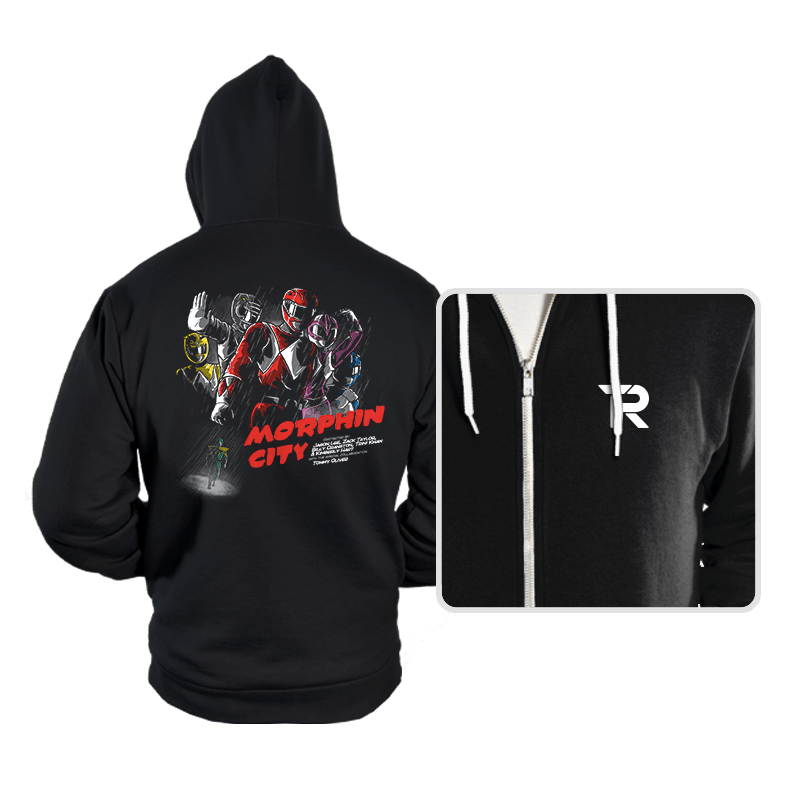 Morphin City - Hoodies - Hoodies - RIPT Apparel