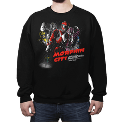 Morphin City - Crew Neck - Crew Neck - RIPT Apparel