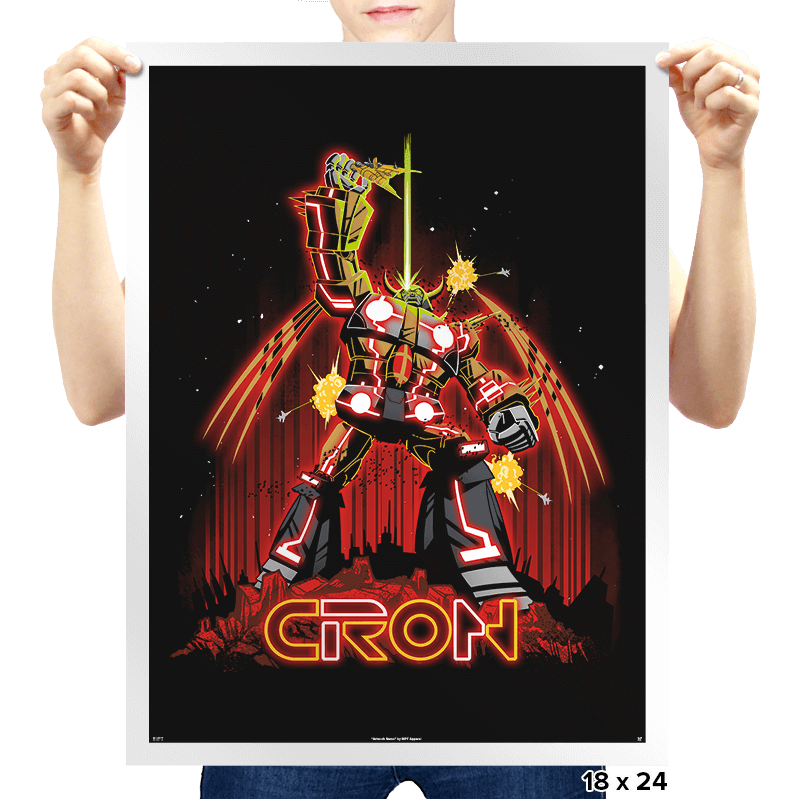 CRON - Prints - Posters - RIPT Apparel