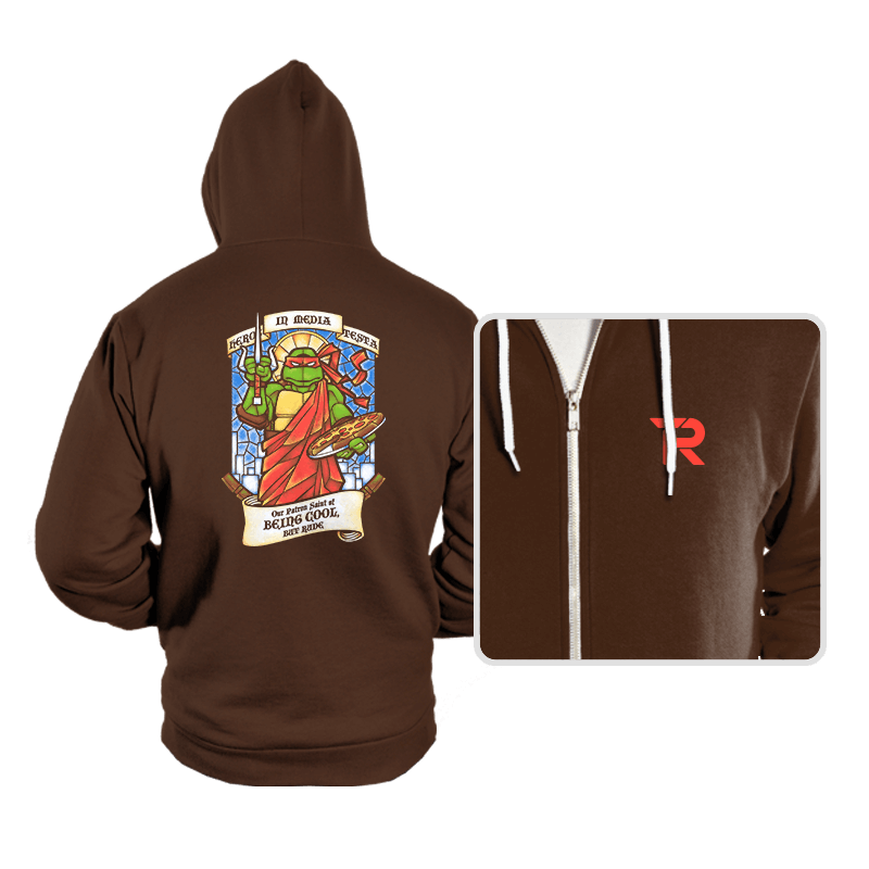 Our Saint of Being Cool, But Rude - Hoodies - Hoodies - RIPT Apparel