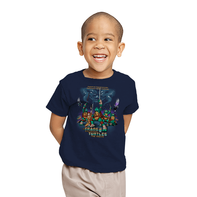 The Trans-Dimensional Turtles - Youth - T-Shirts - RIPT Apparel