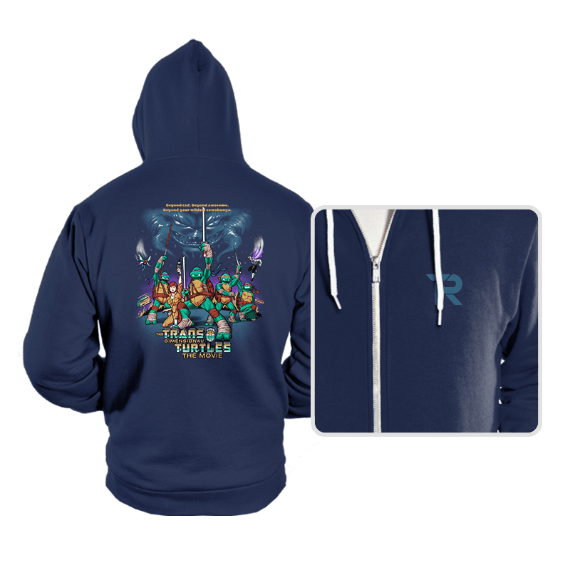 The Trans-Dimensional Turtles - Hoodies - Hoodies - RIPT Apparel