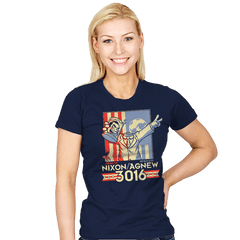 Nixon/Agnew 3016 - Womens - T-Shirts - RIPT Apparel