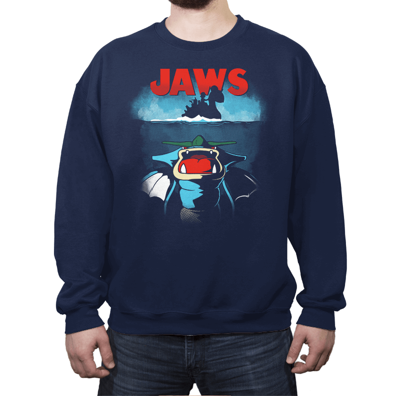 Poke Jaws - Crew Neck - Crew Neck - RIPT Apparel