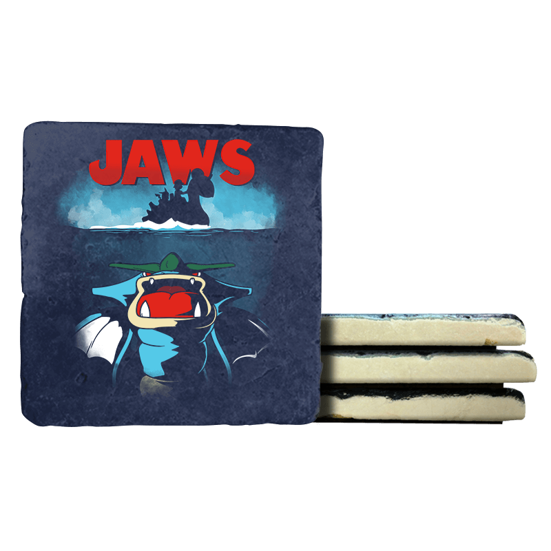 Poke Jaws - Coasters - Coasters - RIPT Apparel