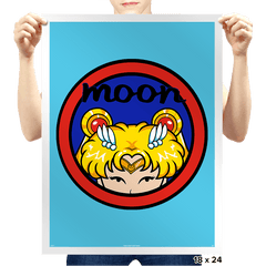 Moon - Prints - Posters - RIPT Apparel