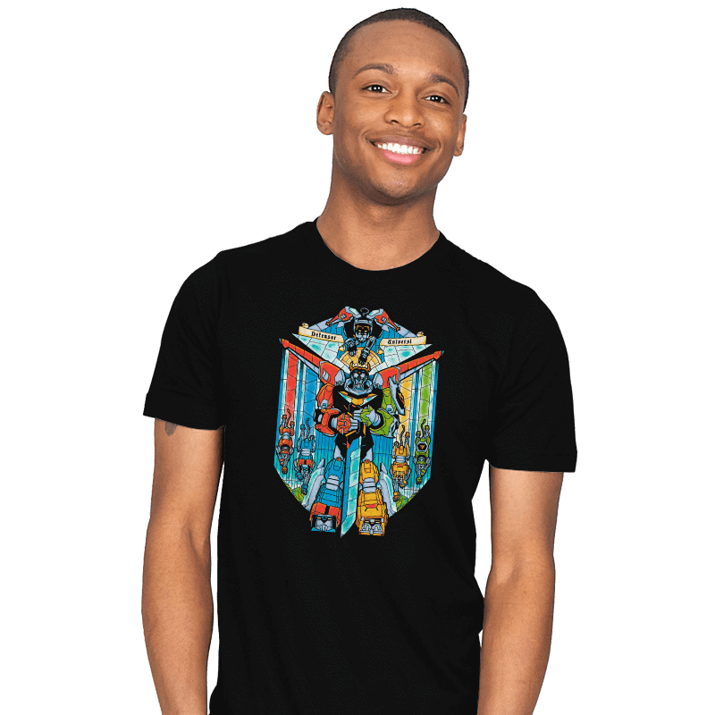 Stained Glass Defender - Mens - T-Shirts - RIPT Apparel