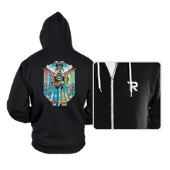 Stained Glass Defender - Hoodies - Hoodies - RIPT Apparel