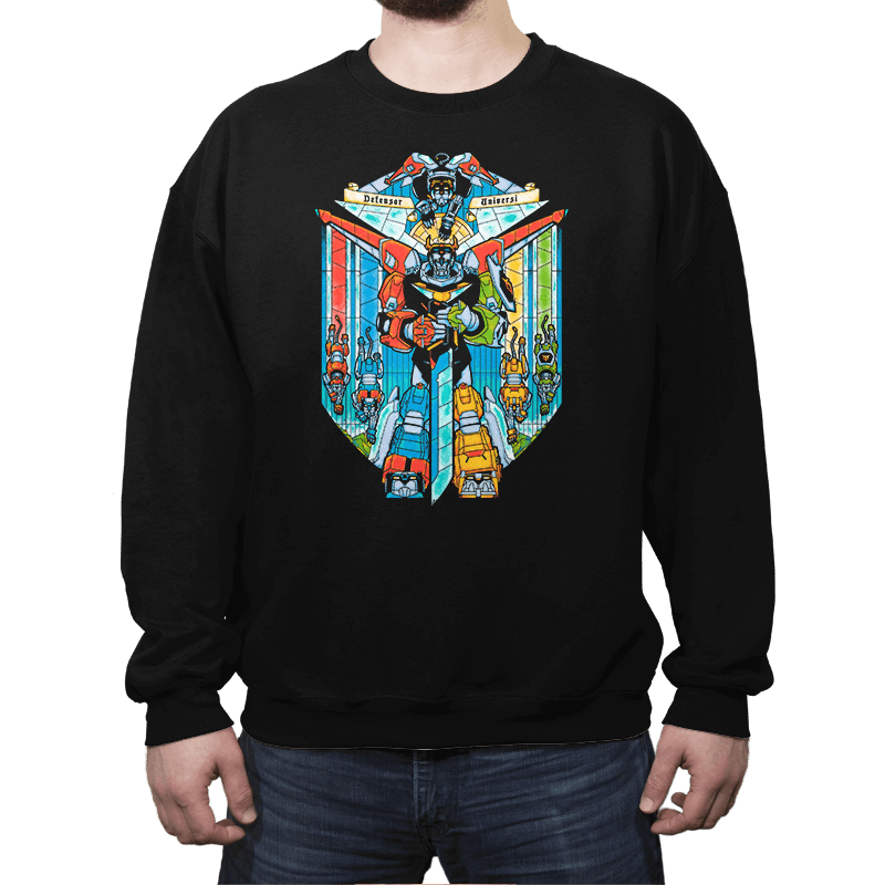Stained Glass Defender - Crew Neck - Crew Neck - RIPT Apparel