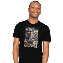 Attack on Tic Tac - Mens - T-Shirts - RIPT Apparel