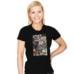 Attack on Tic Tac - Womens - T-Shirts - RIPT Apparel