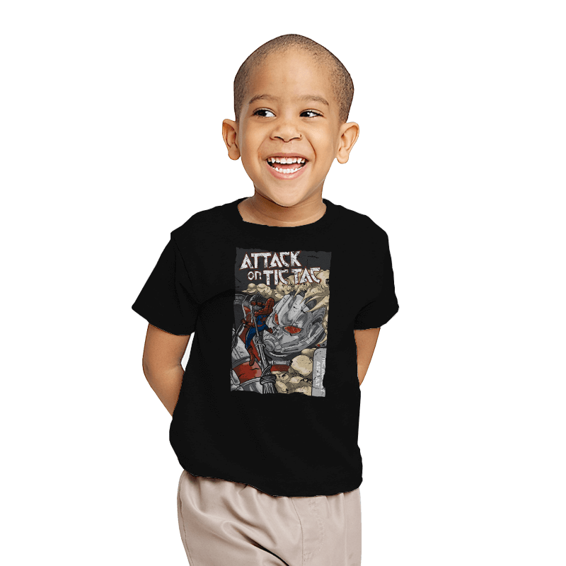 Attack on Tic Tac - Youth - T-Shirts - RIPT Apparel