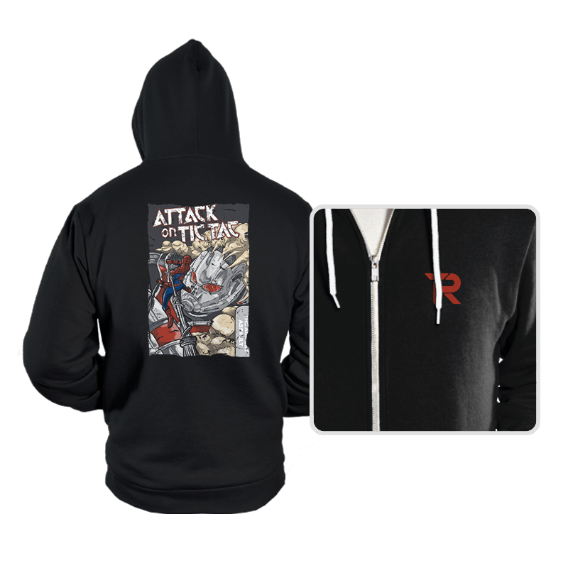 Attack on Tic Tac - Hoodies - Hoodies - RIPT Apparel