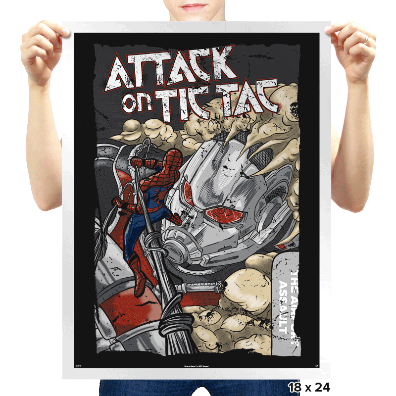 Attack on Tic Tac - Prints - Posters - RIPT Apparel
