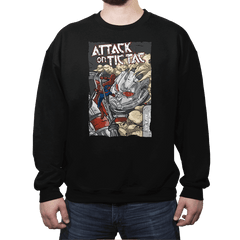 Attack on Tic Tac - Crew Neck - Crew Neck - RIPT Apparel