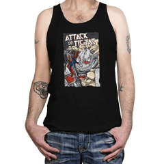 Attack on Tic Tac - Tanktop - Tanktop - RIPT Apparel