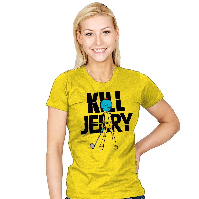Kill Jerry - Womens - T-Shirts - RIPT Apparel