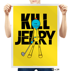 Kill Jerry - Prints - Posters - RIPT Apparel