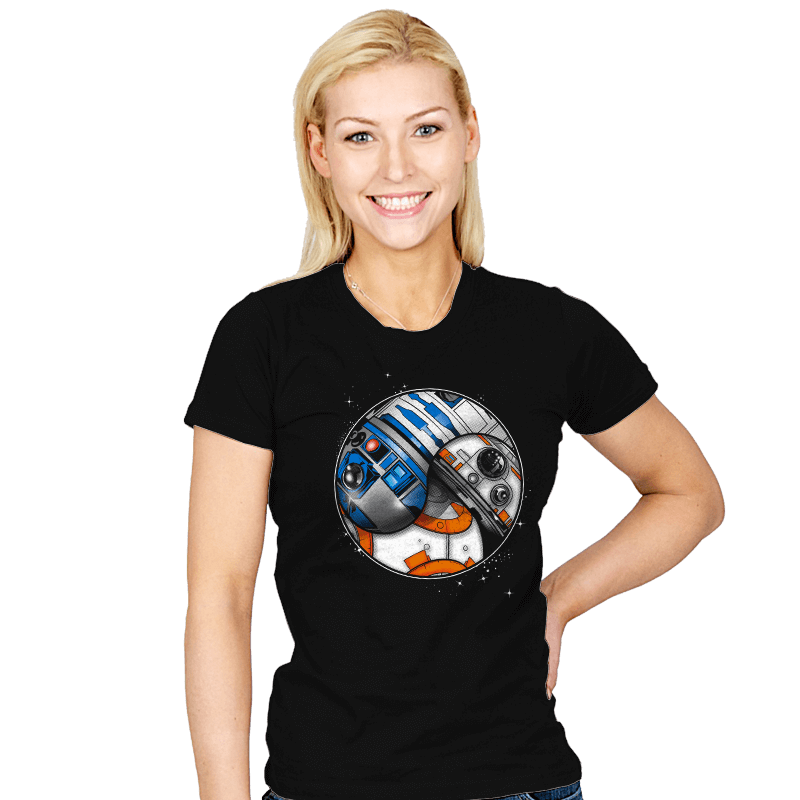 Tao-Droids - Womens - T-Shirts - RIPT Apparel