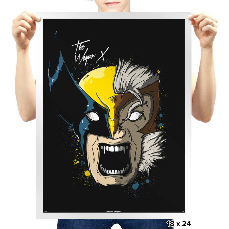 Daft Weapon X - Prints - Posters - RIPT Apparel