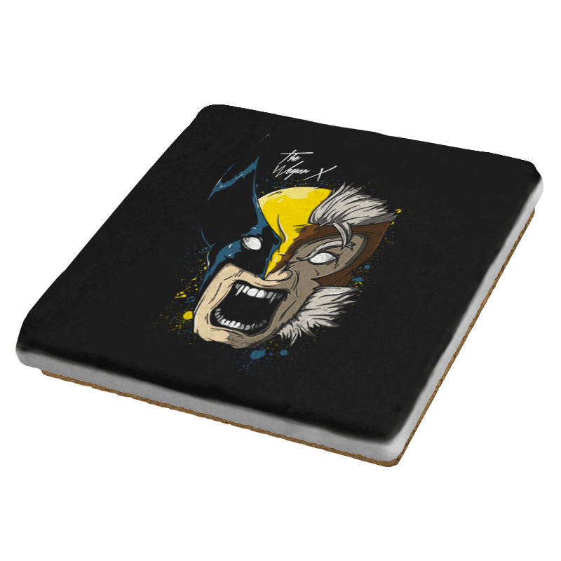 Daft Weapon X - Coasters - Coasters - RIPT Apparel