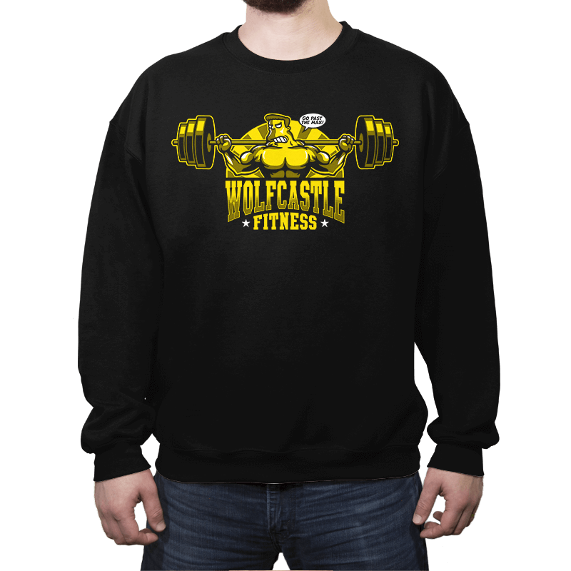 Wolfcastle Fitness - Crew Neck - Crew Neck - RIPT Apparel