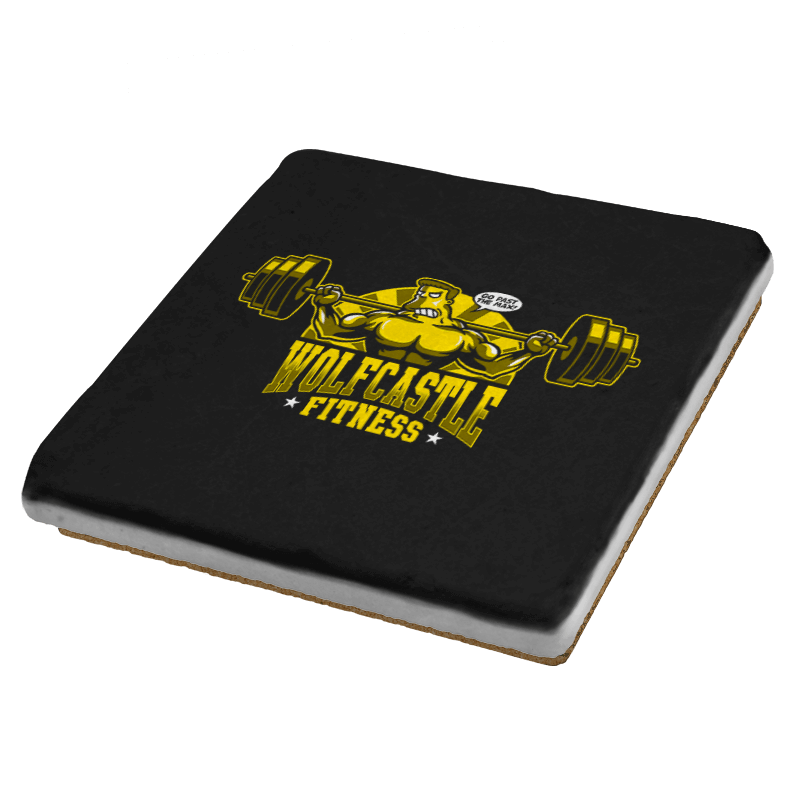 Wolfcastle Fitness - Coasters - Coasters - RIPT Apparel