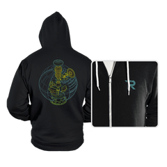 Anatomy of a Space Station - Hoodies - Hoodies - RIPT Apparel