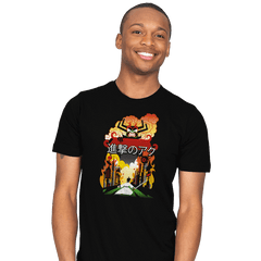 Attack on Aku - Mens - T-Shirts - RIPT Apparel