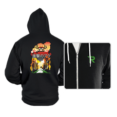 Attack on Aku - Hoodies - Hoodies - RIPT Apparel