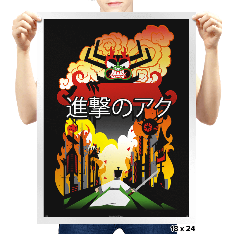 Attack on Aku - Prints - Posters - RIPT Apparel